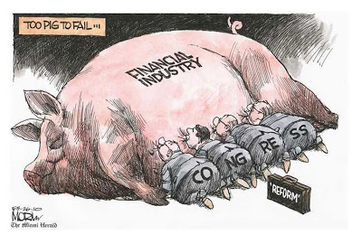 Corporate feeding at the public trough